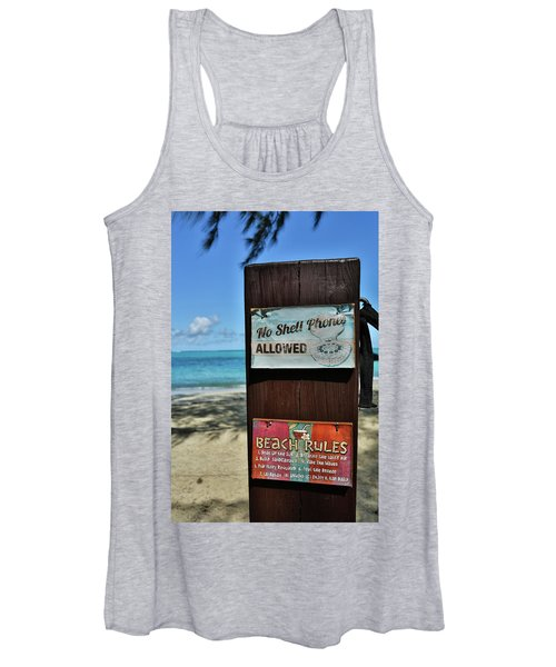 Beach Rules Women's Tank Top