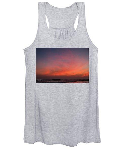 Beach Sky Blaze Women's Tank Top