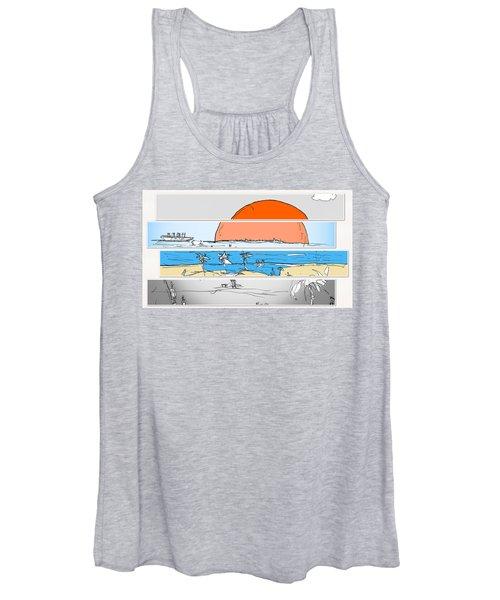 Beach Sunset Women's Tank Top