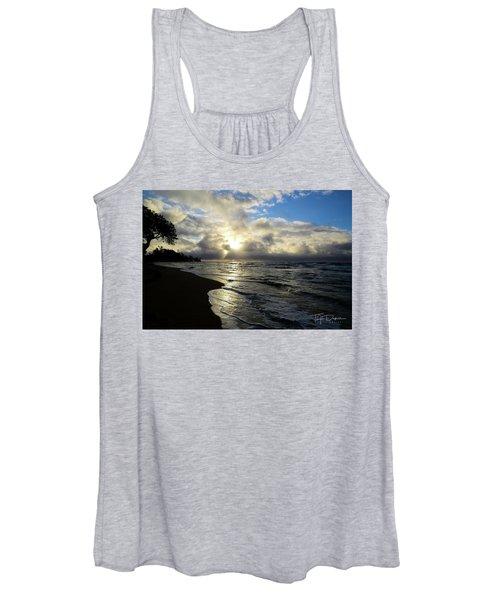 Beachy Morning Women's Tank Top