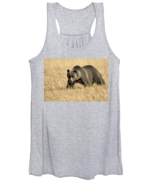 Bear On The Prowl Women's Tank Top