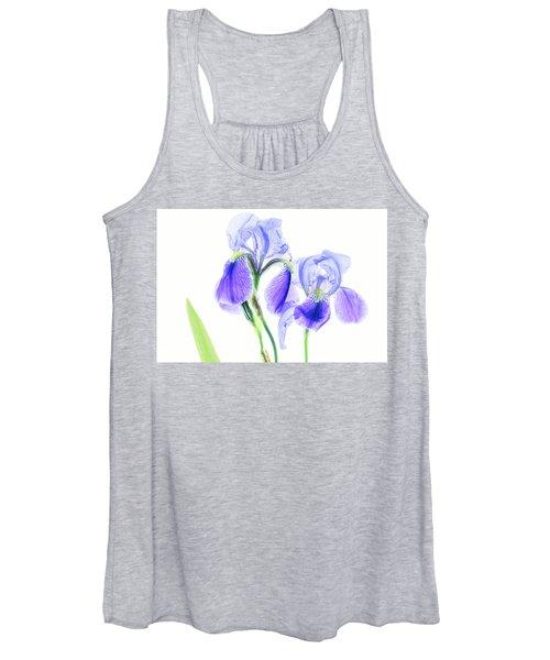Bearded Iris Women's Tank Top