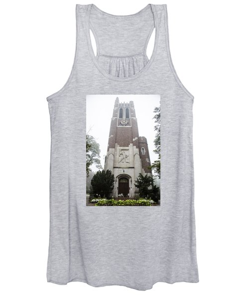 Beaumont Tower In The Fog  Women's Tank Top