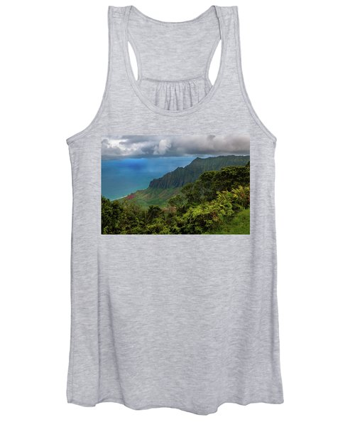 Beautiful And Illusive Kalalau Valley Women's Tank Top
