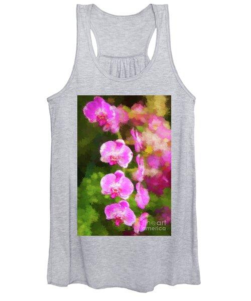 Beautiful Orchids Women's Tank Top