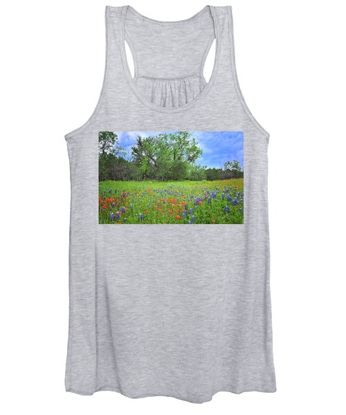 Beautiful Texas Spring Women's Tank Top