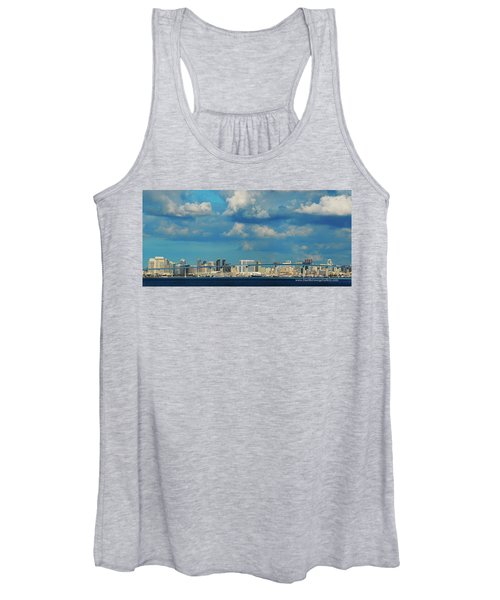 Behind The Bridge Women's Tank Top