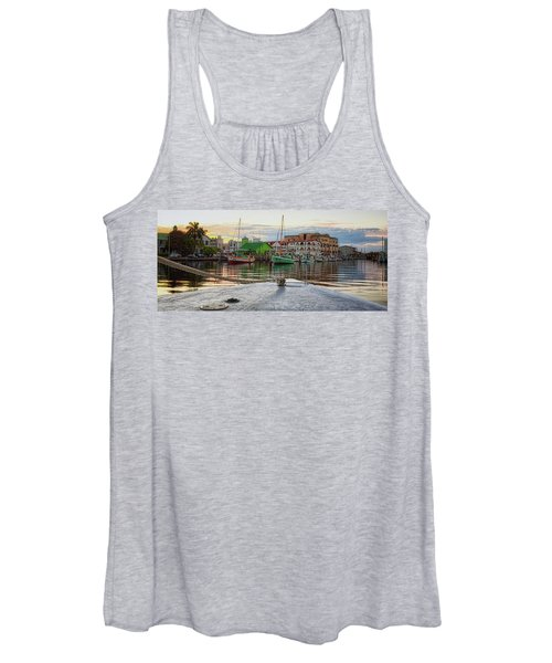 Belize City Harbor Women's Tank Top