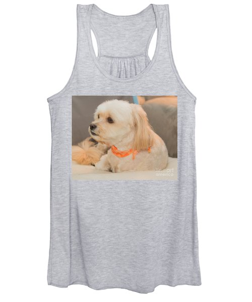 Benji On The Look Out Women's Tank Top
