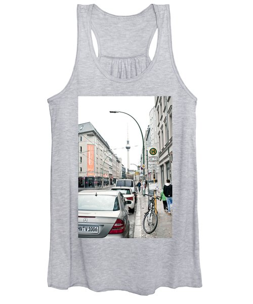 Berlin Tv Tower Women's Tank Top