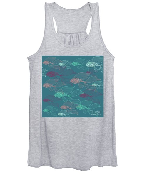 Beta Fish  Women's Tank Top