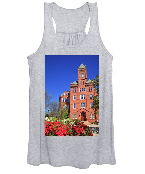 Biddle Hall In The Spring Women's Tank Top