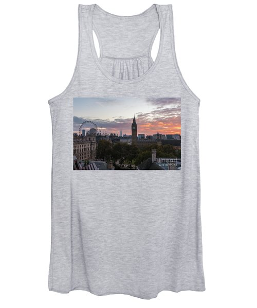 Big Ben London Sunrise Women's Tank Top
