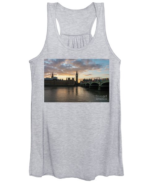 Big Ben London Sunset Women's Tank Top