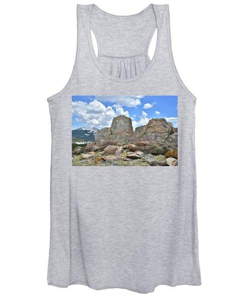 Big Horn Mountains In Wyoming Women's Tank Top
