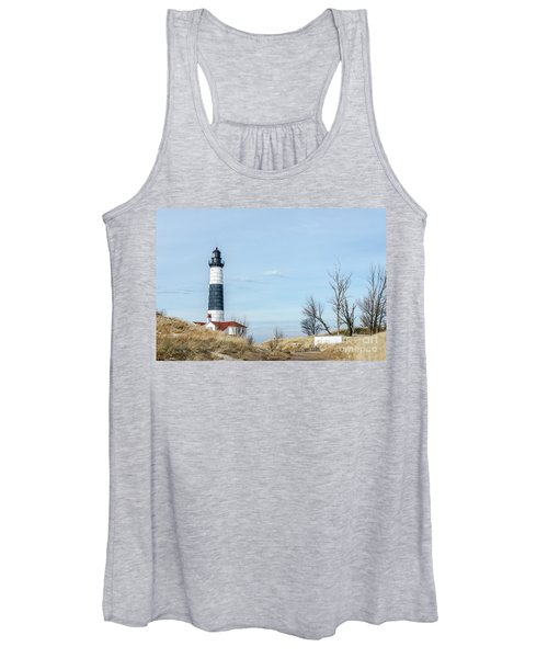 Big Sable Point Lighthouse And Tower Women's Tank Top