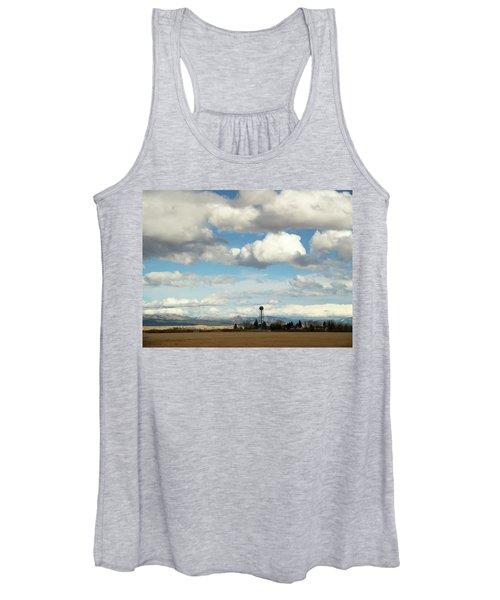Big Sky Water Tower Women's Tank Top