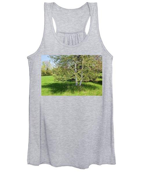 Birch Tree Women's Tank Top
