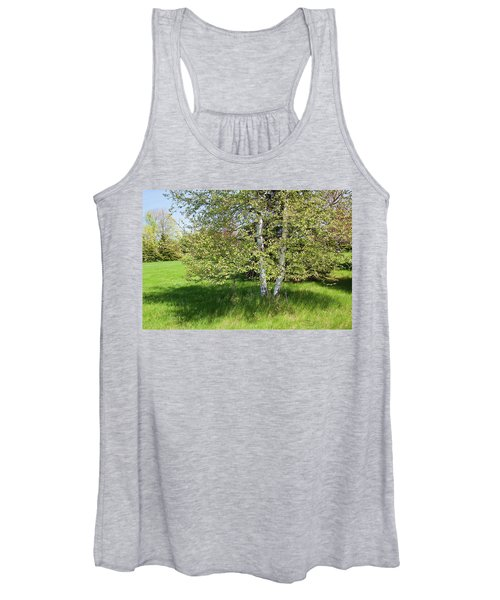 Birch Tree Women's Tank Top