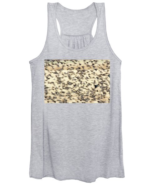Bird Blizzard Women's Tank Top