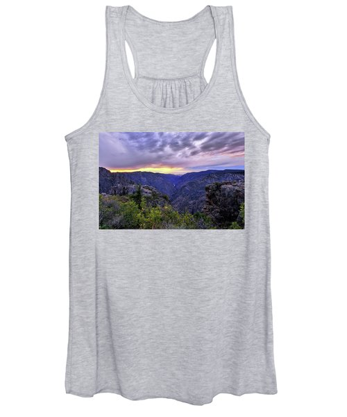 Black Canyon Sunset Women's Tank Top
