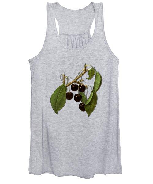 Black Cherries Women's Tank Top