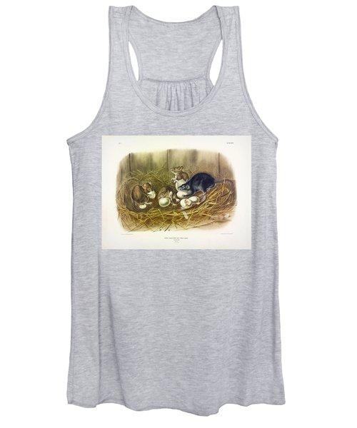 Black Rat Women's Tank Top