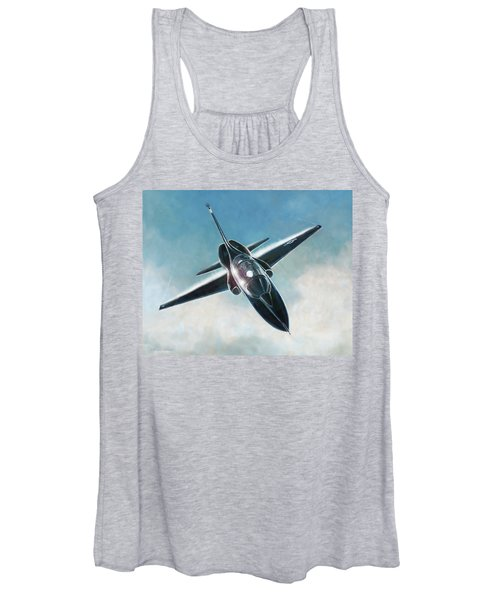 Black T-38 Women's Tank Top