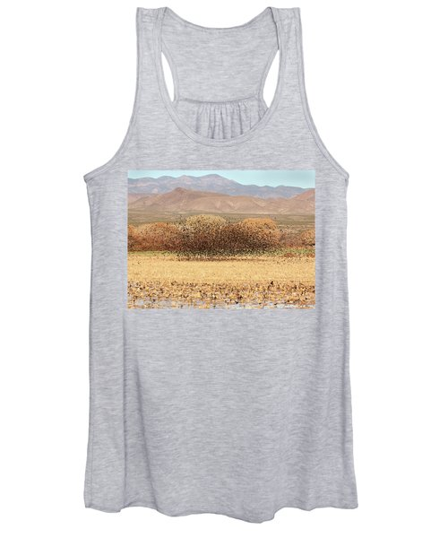 Blackbird Cloud Women's Tank Top