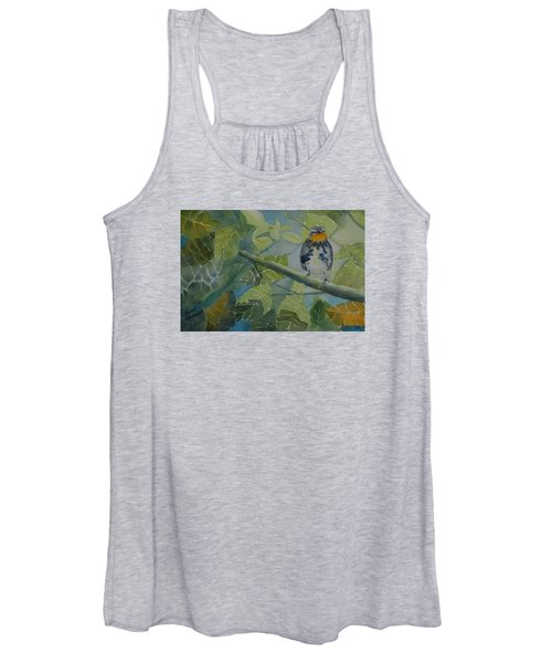 Blackburnian Warbler I Women's Tank Top