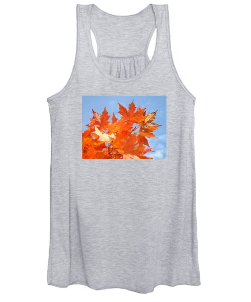 Blazing Maple Women's Tank Top