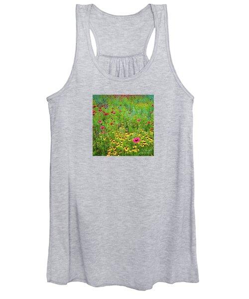 Blooming Wildflowers Women's Tank Top
