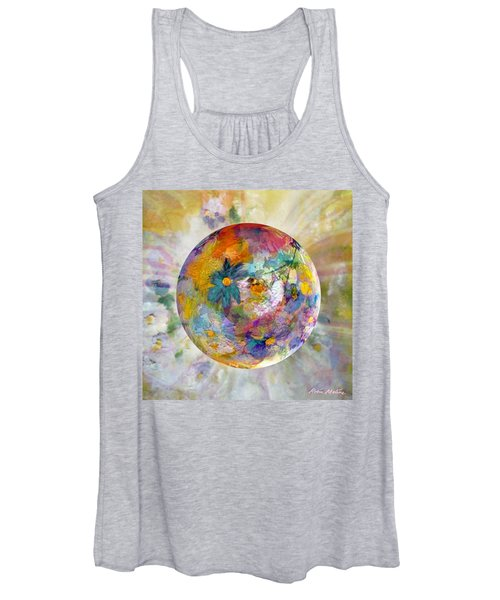 Blossoms In Pastel Women's Tank Top