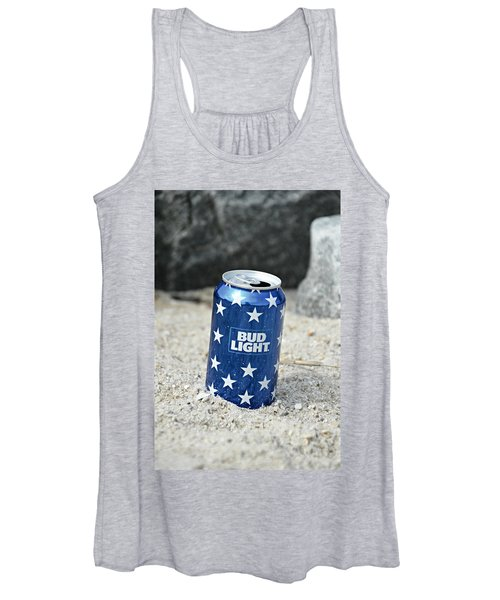 Blue Bud Light Women's Tank Top