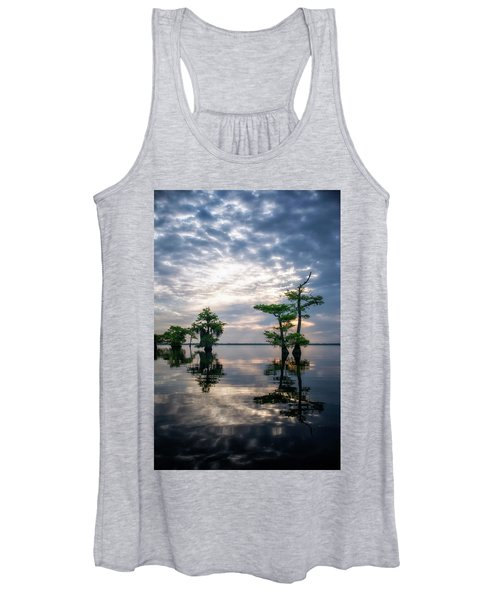 Blue Cypress Sunrise #1 Women's Tank Top