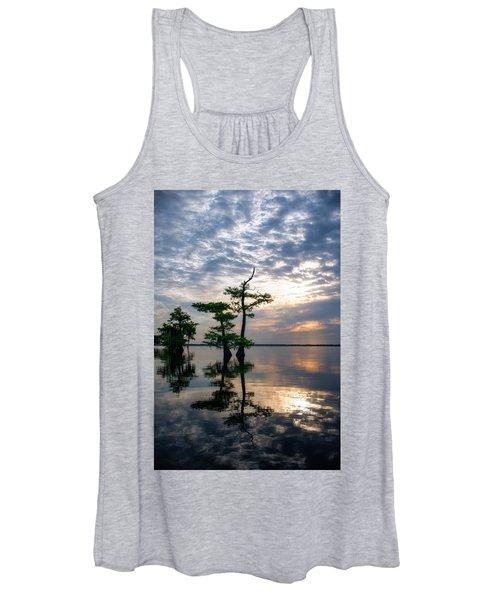 Blue Cypress Sunrise #2 Women's Tank Top