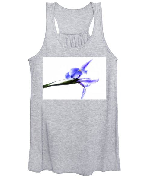 Blue Iris For Irma Women's Tank Top