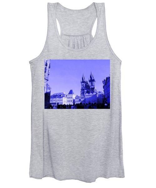Blue Praha Women's Tank Top