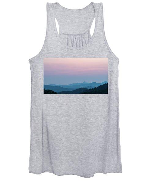 Blue Ridge Mountains After Sunset Women's Tank Top
