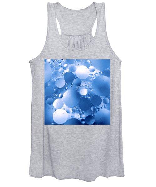 Blue Sphere Flow Women's Tank Top