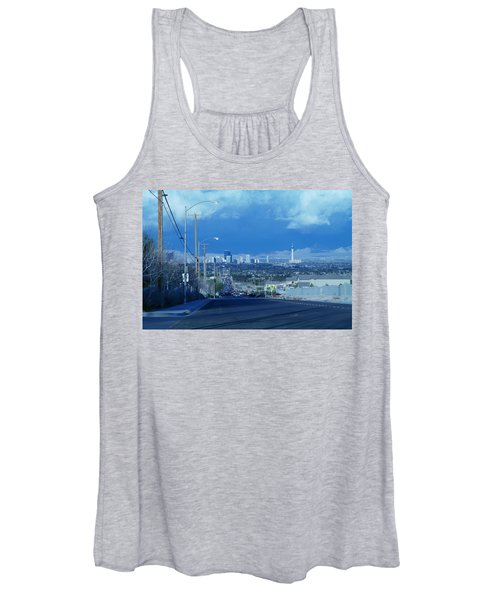 Blue Vegas Women's Tank Top