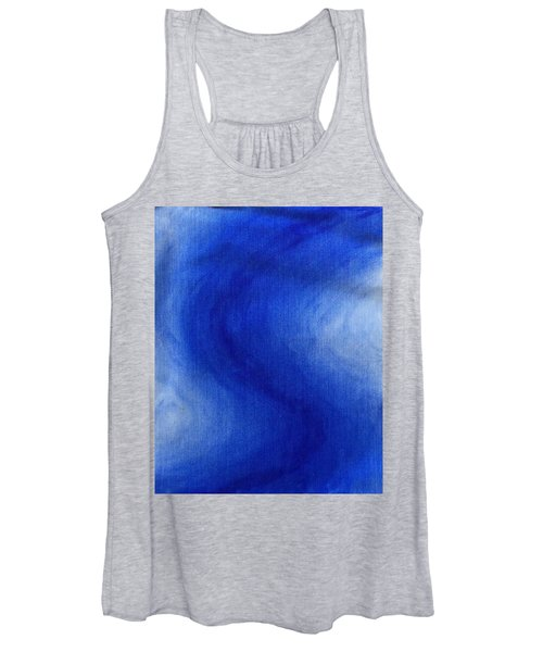 Blue Vibration Women's Tank Top
