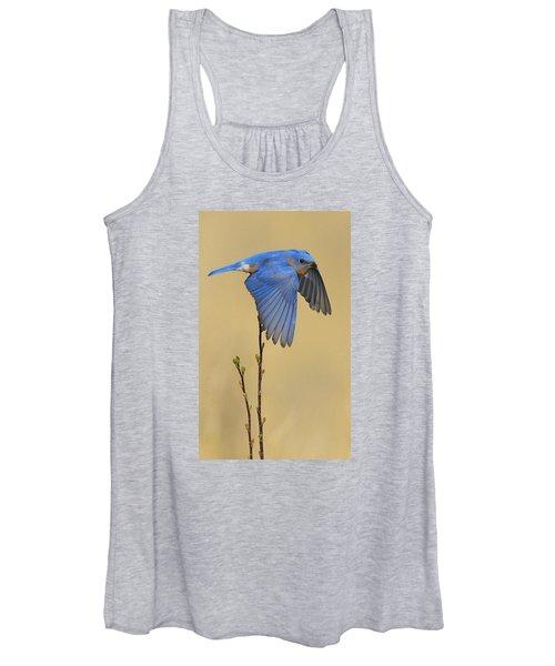 Bluebird Takes Flight Women's Tank Top