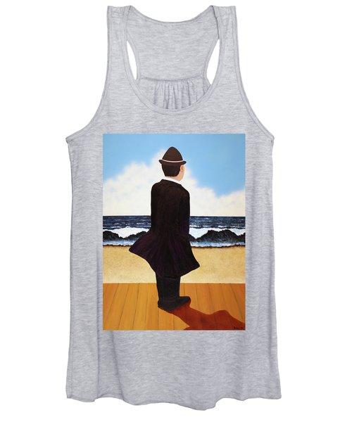Boardwalk Man Women's Tank Top