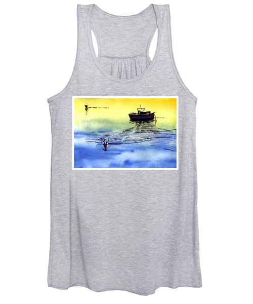 Boat And The Seagull Women's Tank Top