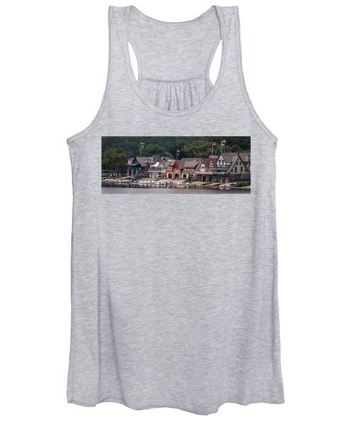 Boathouse Row Philadelphia Pa  Women's Tank Top