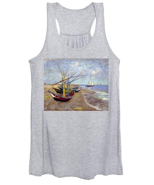 Boats Women's Tank Top
