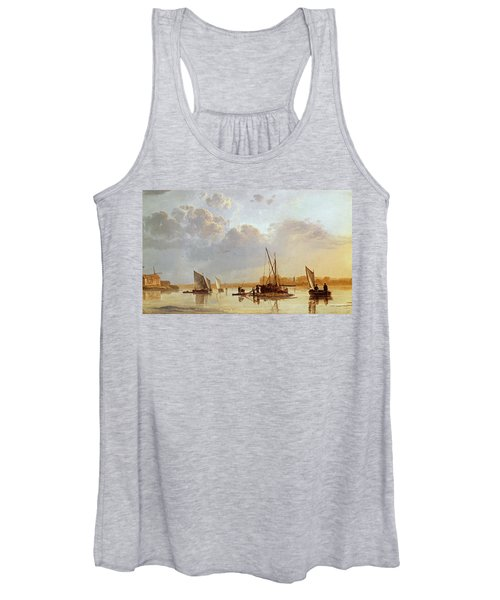Boats On A River Women's Tank Top