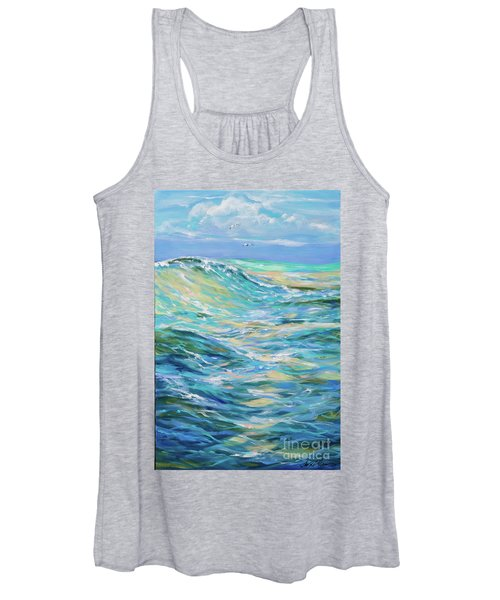 Bodysurfing North Women's Tank Top