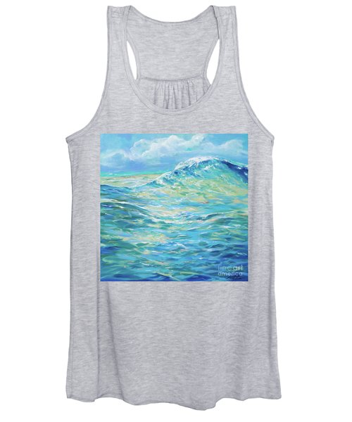 Bodysurfing Rolling Wave Women's Tank Top